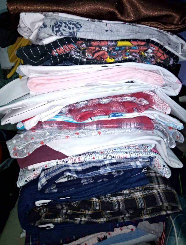 check shirts folded