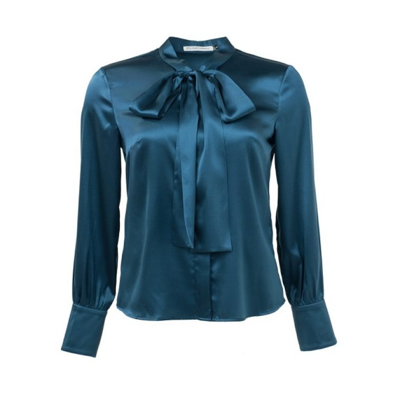 Female Blue Silk_Shirt 600x600 inkscapped