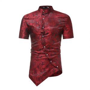 Men's Short-Sleeve-Shirt Danshiki