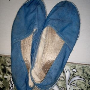 Jean fabric Shoe (before wash)