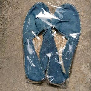 Jeans fabric Shoe (after wash)