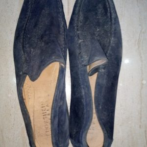 Blue Suede Shoe (before wash)