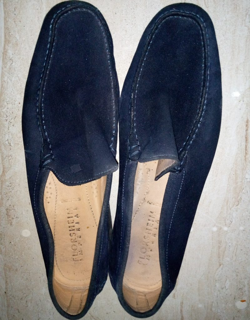 Blue Suede Shoe washed by Style & Patterns