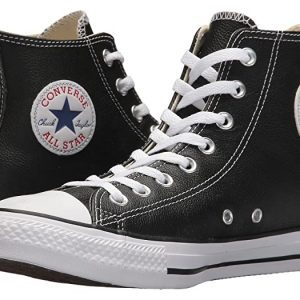 Black high ankle converse shoes