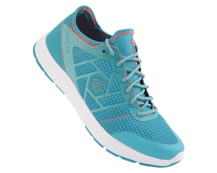 Light blue trainers