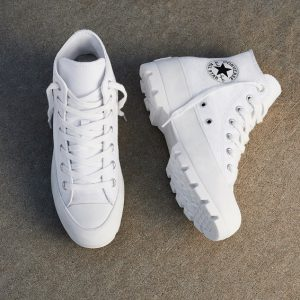 full white converse shoes