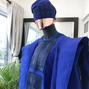 Agbada with Cap