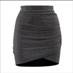 Grey Female Skirt