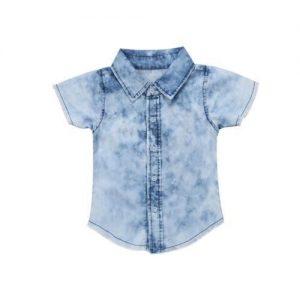 a child jean shirt