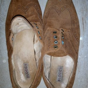 Corporate Suede laced Shoe (before wash)
