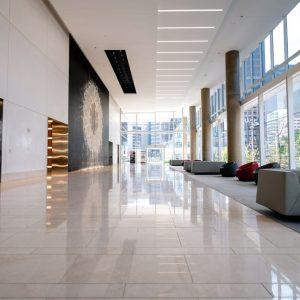 Lobby passageway