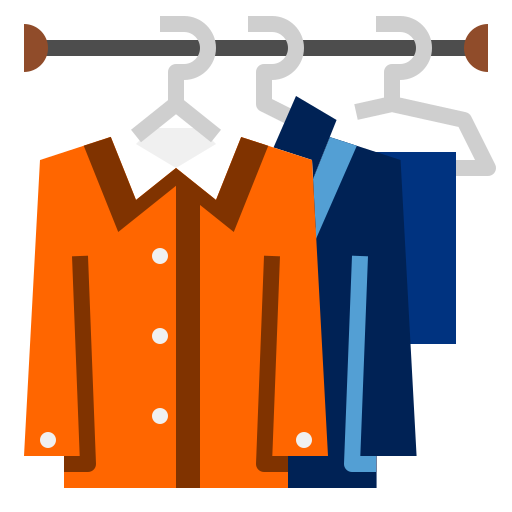 SP wardrobe for Terms Page