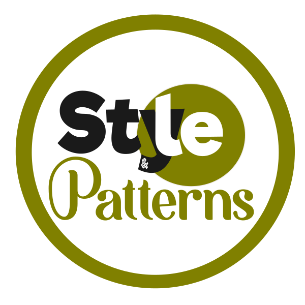 Style Patterns Logo with Border